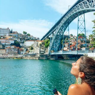 PORTO  A very special place for me. My mom was born and raised here. We visit it every year at least once due to family and friends.  I've been coming here since I can remember. It's difficult to make a selection of best things to do because there is so much but here's a start for first timers.  TOP THINGS TO DO IN PORTO: Save for later 🗝  🍷 Visit a port wine cellar. There are many to choose from and they're all great. I've been to Sandeman and Croft.   ⛱ Have lunch or a drink at Restaurante Praia da Luz in Foz. It's beautifully located by the sea and it offers an amazing view over the Atlantic.   🗺 Walk from Rua Santa Catarina all the way down to Clerigos, Rua das Flores and end at Ribeira. Choose different narrow streets and see where they take you. You'll get lost a few times but let it surprise you.   🍴Eat a francesinha. It's a specialty from Porto. It's a sandwich made with bread, wet-cured ham, linguiça, chipolata, steak, covered with melted cheese and a hot thick spiced tomato and beer sauce. If you're not that hungry you can also ask for half. Best places: capa negra II and Brasão.   🚞 Take a look at Estação de São Bento. It's a beautiful train station full with azulejos that represent important moments in the Portugese history.   🍇 Mercado do Bolhão. This is a save for later because it's under construction at the moment. This used to be an authentic old market and they're transforming it into something more modern. They have been working on it for years so I think it's not going to take long before it opens up. My expectations and hope are high that they'll keep the authenticity.   📚 Even though it's a super tourist attraction now, Lello bookstore is a must visit. It has been named as one of the most beautiful bookstores in the world and you'll understand why. J. K. Rowling got inspired by this bookstore and you'll recognize some features in the movie/ books. She used to live in Porto.   🎠 The area of Lello bookstore is beautiful to explore, many old shops 